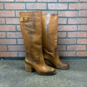 LUCKY BRAND✨ Tall Brown Boots Size 8.5